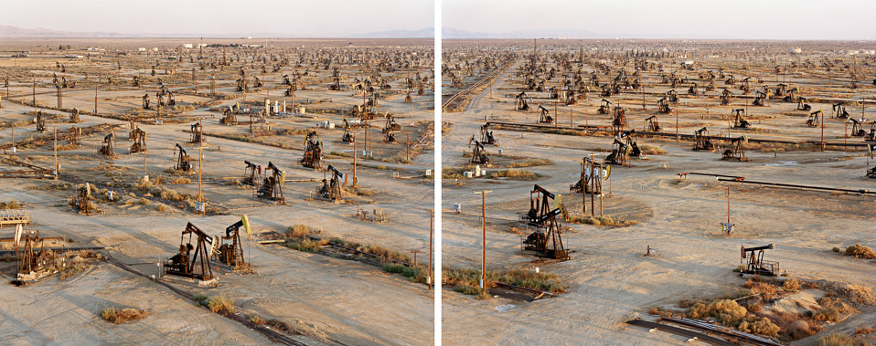 Paesaggi estrattivi foto di Edward Burtynsky