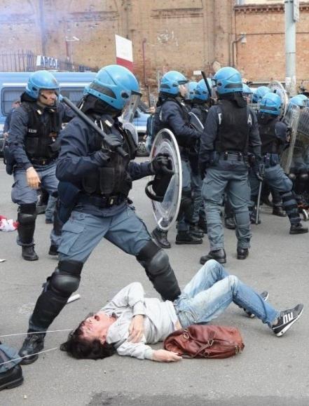 polizia-renziana