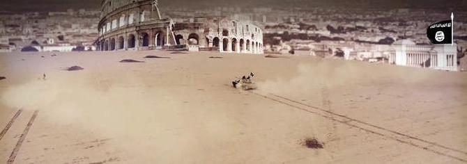 Nuovo video minacce Isis su Roma, tank contro il Colosseo